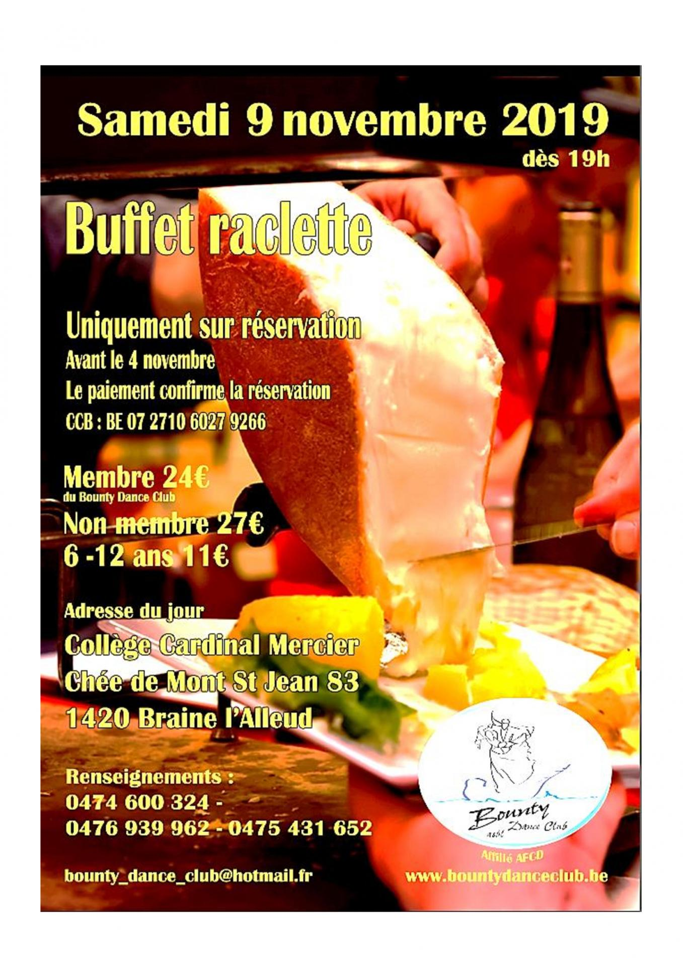 Affiche raclette bounty