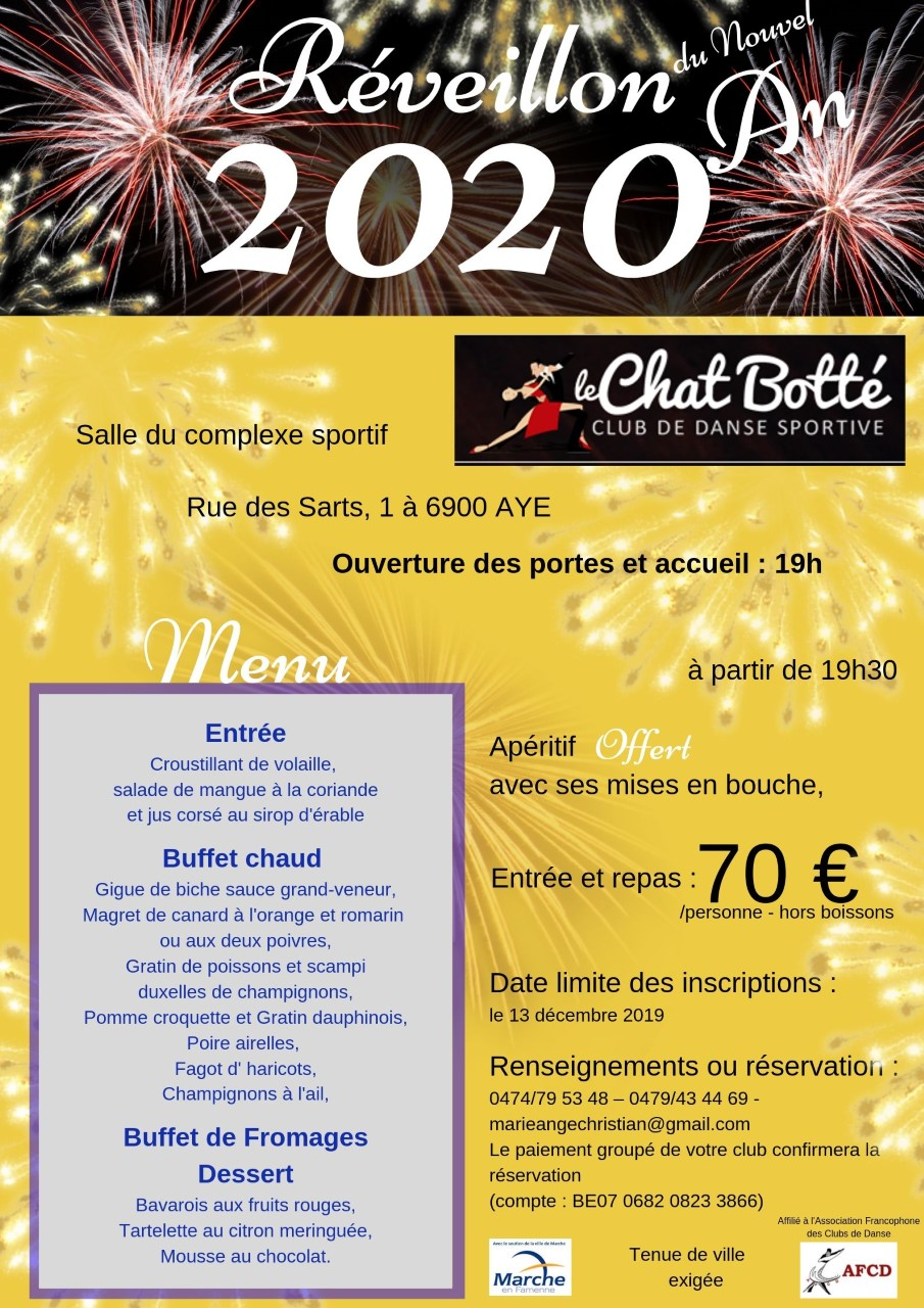 Reveillon chat botte